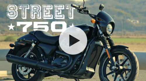 HARLEY DAVIDSON STREET750 -MOTORCYCLE MOVIE-