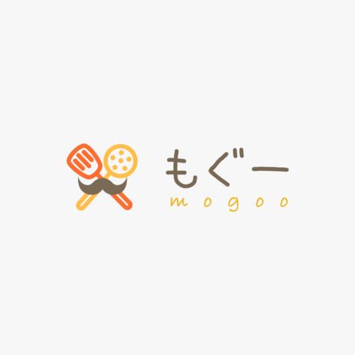 「もぐー」ロゴデザイン