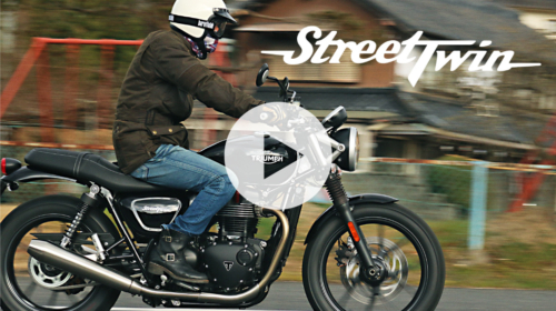 TRIUMPH STREET TWIN -MOTORCYCLE MOVIE-