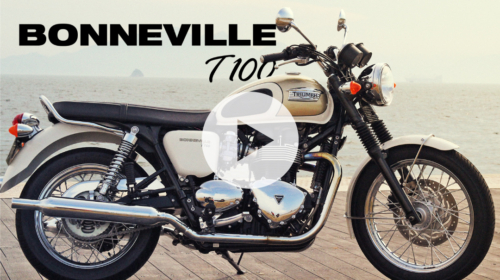 TRIUMPH BONNEVILLE T100 -MOTORCYCLE MOVIE-