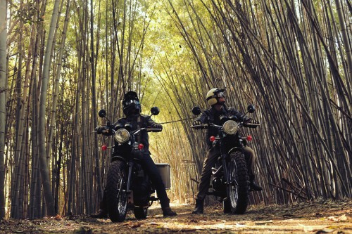 W SCRAMBLER TOURING -FOREST ROAD-